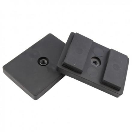 Protego Gummimagnet - rektangulær - magnetblok - 1 gevind