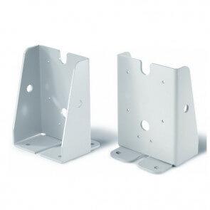 Gulvbeslag til dørholder magneter