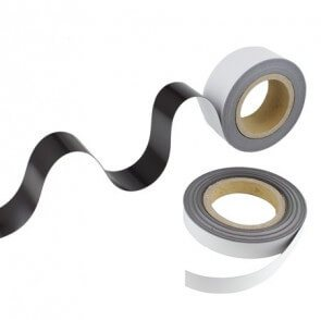 Magnetband – vit