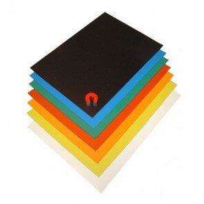 Magnetfolie A4 ark i färger
