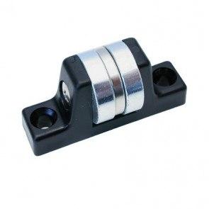 Magnetisk cylinderformet dørholder