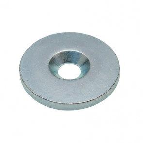 Metallskivor / försänkt skruvhål