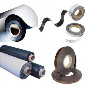 Skræddersyede fleksible magneter på mål